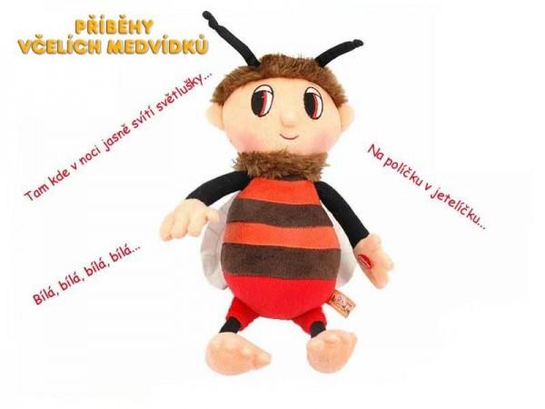 Včelí medvídek Brumda plyš česky zpívající 29cm na baterie 0+