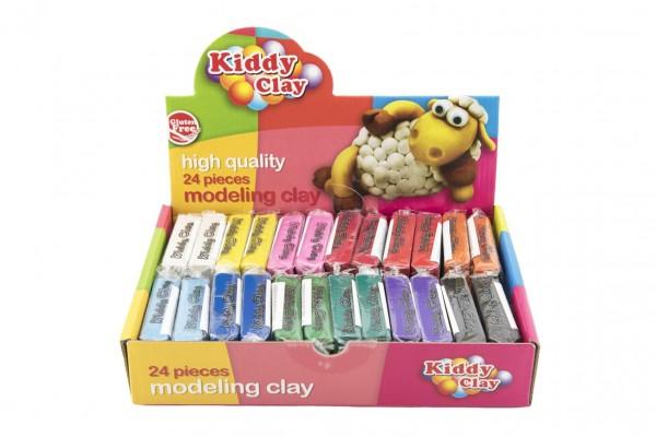 Modelína/plastelína Nara 60g 12 barev 24ks v boxu