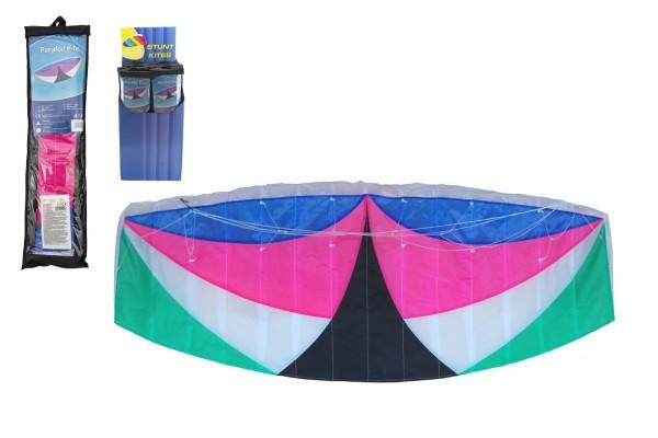Drak létající nylon 120x55cm v sáčku 24ks v boxu