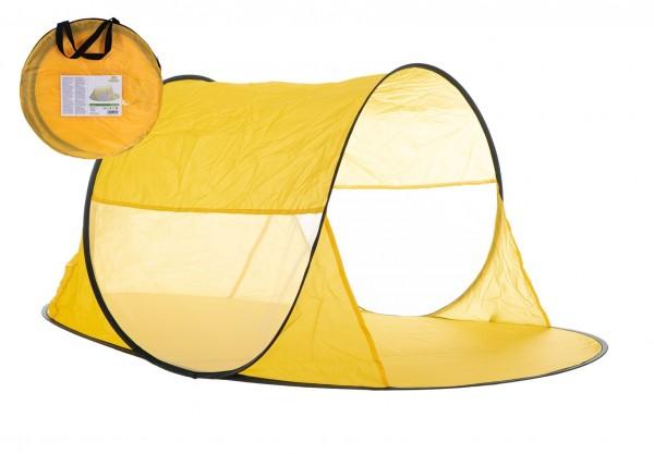 Stan plážový 140x70x62cm samorozkládací polyester/kov v látkové tašce