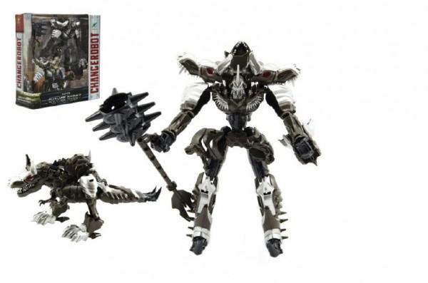 Transformer drak/robot plast 21cm v krabičce