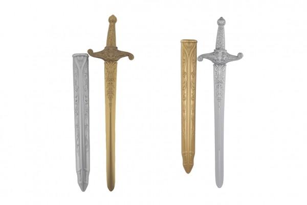 Rytířský meč s pouzdrem plast 59cm