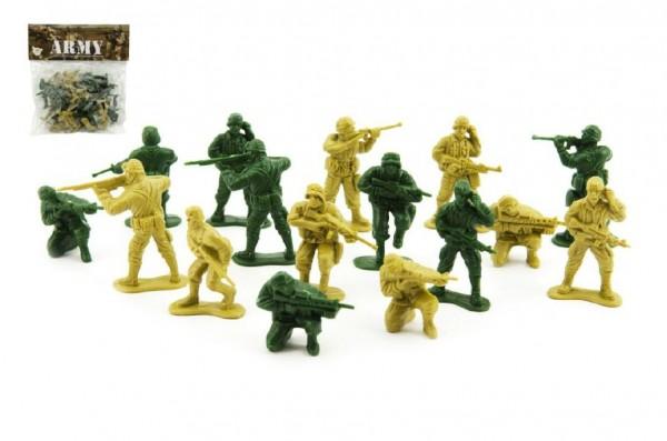 Sada vojáci 100g plast CZ design na kartě 18x19,5cm
