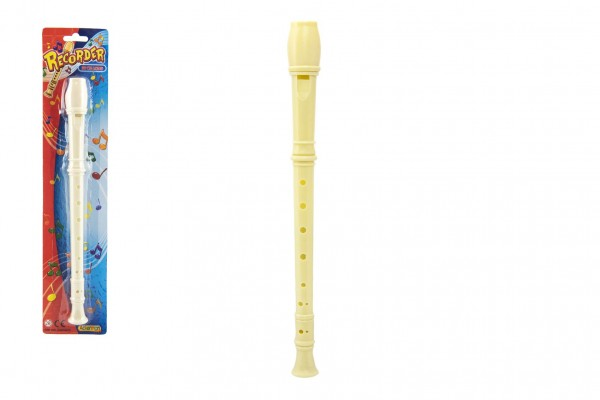 Flétna plast 30cm na kartě