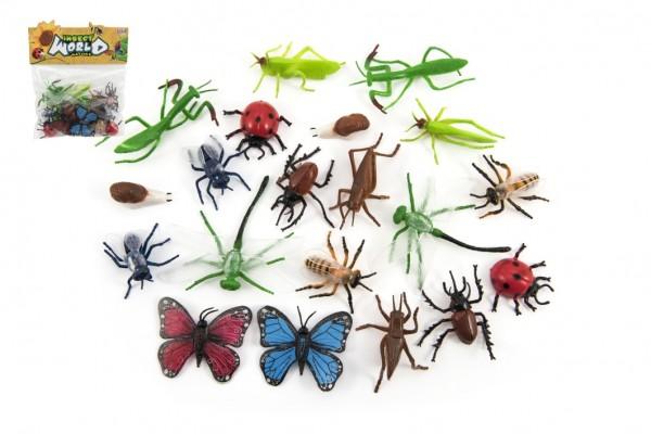 Hmyz plast 5-10cm v sáčku