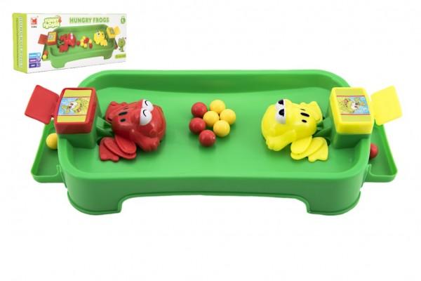 Hladové žáby plast společenská hra v krabici 36x15,5x8cm