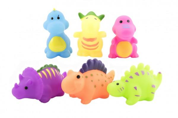 Zvířátka do vody plast 6 druhů