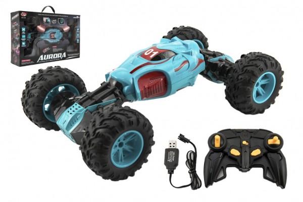 Auto RC Formule Buggy zvedací plast 42x23cm dálkové ovládání na USB dobíjení v krabici 47x31x12cm