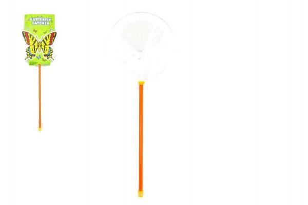 Síťka na hmyz plast 65cm průměr 25cm na kartě