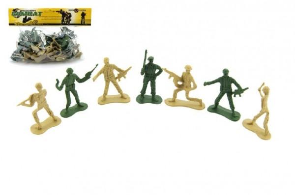 Sada vojáci plast v sáčku 28x25cm