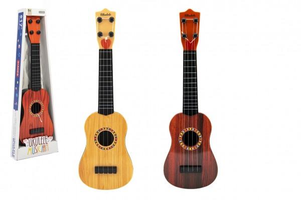 Kytara s trsátkem plast 40cm 3 barvy v krabici