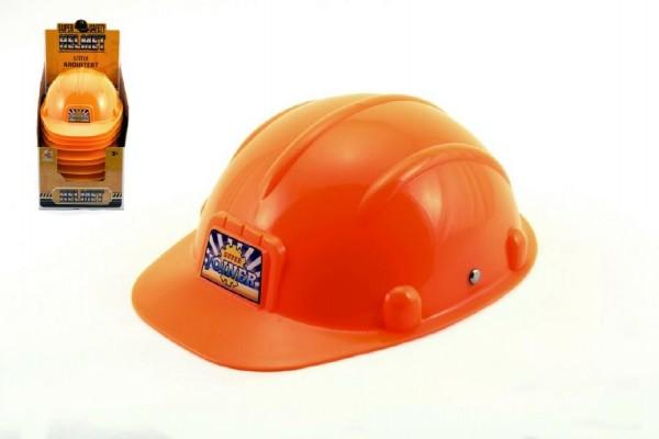 Helma přilba pracovní plast 23,5cm 12ks v boxu