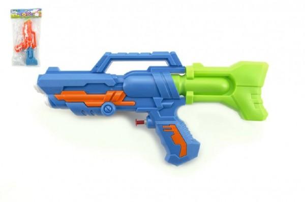Vodní pistole plast 32cm asst 2 barvy v sáčku