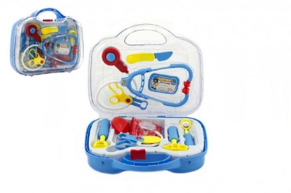 Sada doktor/lékař plast 27cm v plastovém kufříku 27x24x9cm