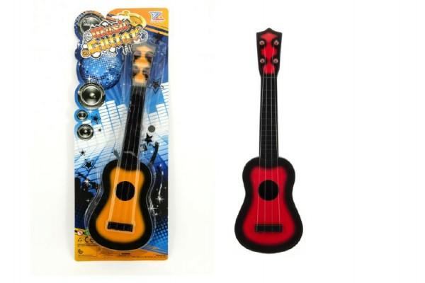 Kytara plast 41cm na kartě