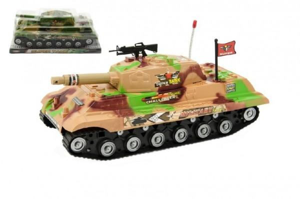 Tank plast 34cm na setrvačník v blistru