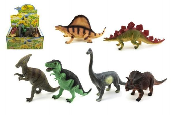 Dinosaurus plast 40cm asst 6ks v boxu