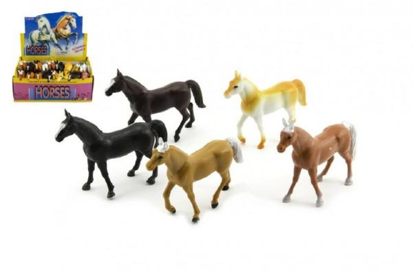 Kůň plast 10cm asst 18ks v boxu