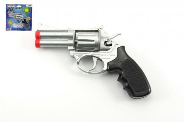 Pistole na kapsle 8 ran kov 16cm na kartě
