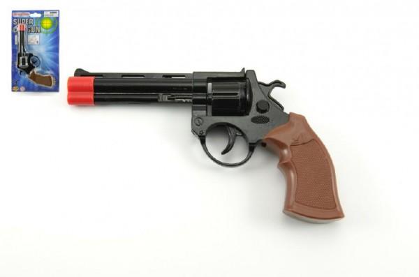 Pistole na kapsle 8 ran kov 19cm na kartě