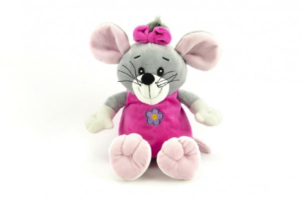 Myš plyš stojící 30cm