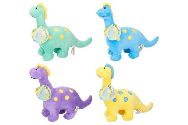 Dinosaurus plyš 28cm asst 4 barvy