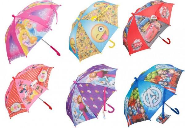 Deštník Disney 55cm asst 6 druhů v sáčku