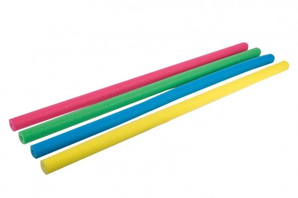 Vodní tyč plavací pěnová trubice 155cm průměr 6cm 4 barvy