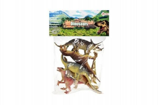 Dinosaurus plast 19cm 6ks v sáčku
