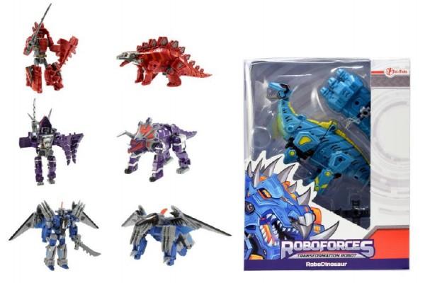 Dinosaurus/robot transformer 18cm asst 4 druhy v krabici