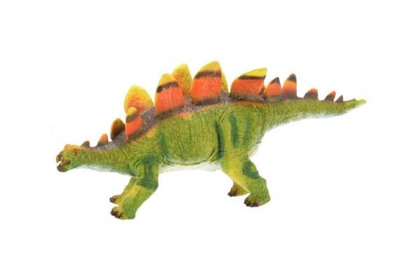 Dinosaurus měkčený stegosaurus plast 40cm
