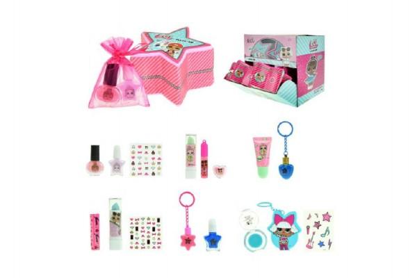 Sada s překvapením L.O.L. pro holky šminky/make-up v krabičce 10x6x10cm 12ks v boxu