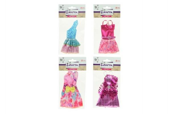 Oblečky/Šaty pro panenky 13cm asst 12 druhů v sáčku