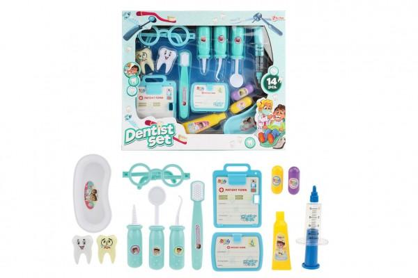 Sada zubař/doktor 14ks plast v krabici 34x29x4,5cm