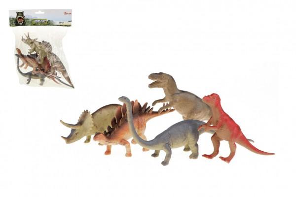 Dinosauři 5 ks plast 19-22cm v sáčku