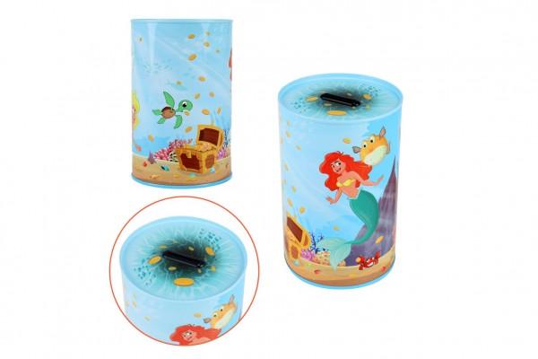Pokladnička Mermaids/Mořské panny plechová 10x15cm v sáčku