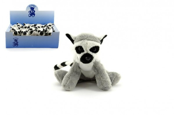 Lemur plyš 12cm 18ks v boxu