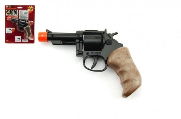 Pistole na kapsle 8 ran kov 11cm na kartě