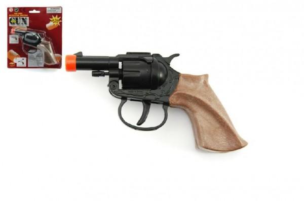 Pistole na kapsle 8 ran kov 14 cm na kartě