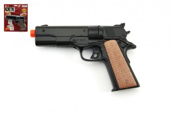Pistole na kapsle 8 ran kov 12cm na kartě