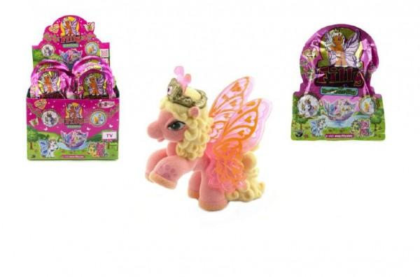 Kůň s křídly Filly Butterfly plast asst v sáčku 13x17cm 48ks v boxu