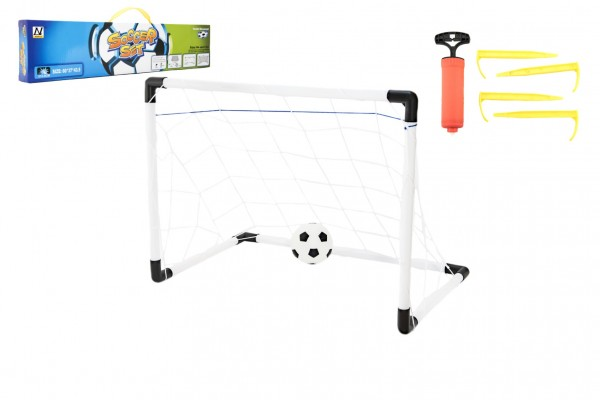 Fotbalová branka plast 60x37x43,5cm v krabici 55x12x5cm