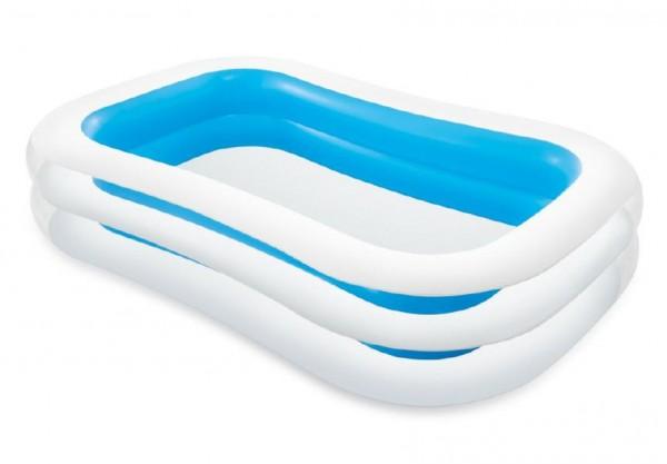 Bazén nafukovací obdélník 262x175x56cm