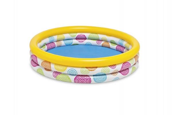 Bazén nafukovací 3 komory 114x25cm v sáčku