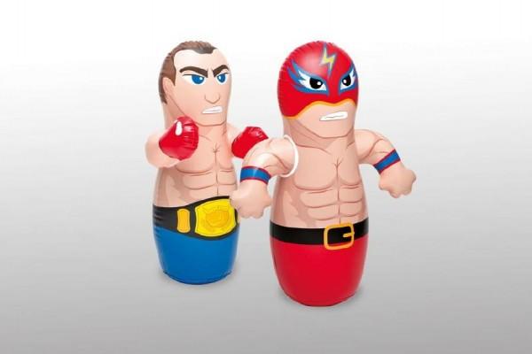 Figurka boxovací 91x72cm asst 2 druhy nafukovací