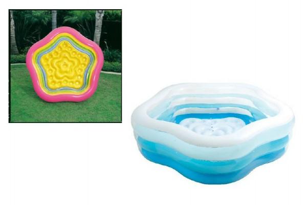 Bazén nafukovací pětiúhelník 185x180x53 cm