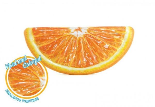 Lehátko pomeranč nafukovací 178x85cm v krabici