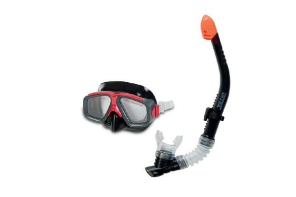 Potápěčská sada brýle + šnorchl černá 8+