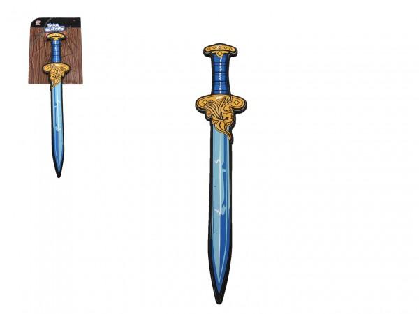 Meč pěnový měkký 52cm na kartě