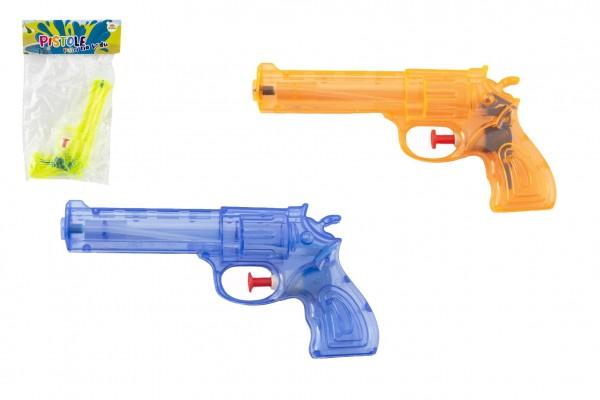 Teddies Vodní pistole plast 17cm 3 barvy v sáčku
